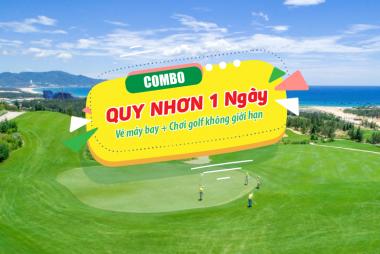 Flash Sale FLC Golf Links Quy Nhơn - trọn gói chơi golf 1 ngày