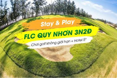 Stay & Play Quy Nhơn 3N2Đ: Chơi Golf Không Giới Hạn + 2 Đêm FLC Quy Nhơn 5* + Miễn Phí Vé Máy Bay