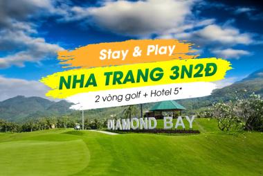 Stay & Play Nha Trang 3N2Đ: 2 Vòng Golf + 2 Đêm Queen Ann Hotel 5* Nha Trang