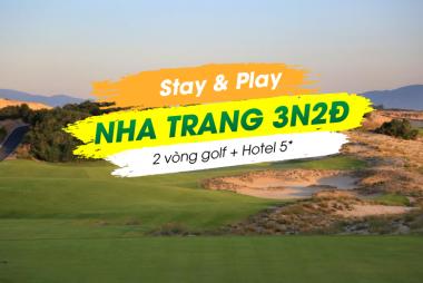 Stay & Play Nha Trang 3N2Đ: 2 Vòng Golf + 2 Đêm Radisson Blu Cam Ranh 5*