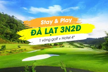 Stay & Play Đà Lạt 3N2Đ: 1 Vòng Golf + 2 Đêm Terracotta Hotel & Resort Dalat 4*