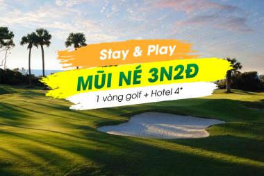 Stay & Play Mũi Né 3N2Đ: 1 Vòng Golf + 2 Đêm Terracotta Resort & Spa 4*