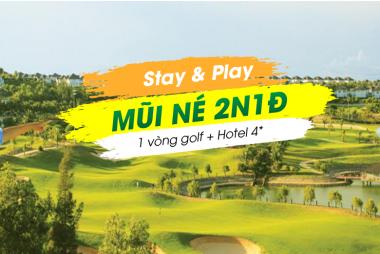 Stay & Play Mũi Né 2N1Đ: 1 Vòng Golf + 1 Đêm Terracotta Resort & Spa 4*