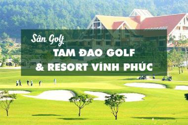Bảng Giá, Voucher Sân Golf Tam Dao Golf & Resort Vĩnh Phúc