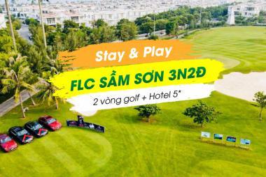 Stay & Play FLC Sầm Sơn 3N2Đ: 2 Vòng Golf + 2 Đêm Nghỉ FLC Sâm Sơn Hotel 5*