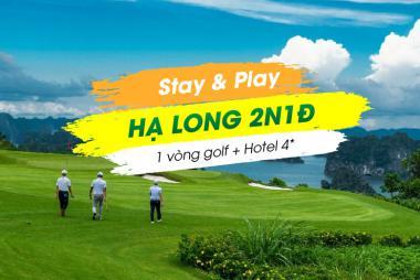 Stay & Play Hạ Long 2N1Đ:  1 vòng Golf + 1 đêm KS Kingly Villa 4*