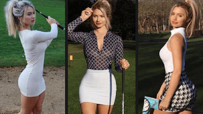 Nữ golf thủ xinh đẹp người Anh Bella Angel