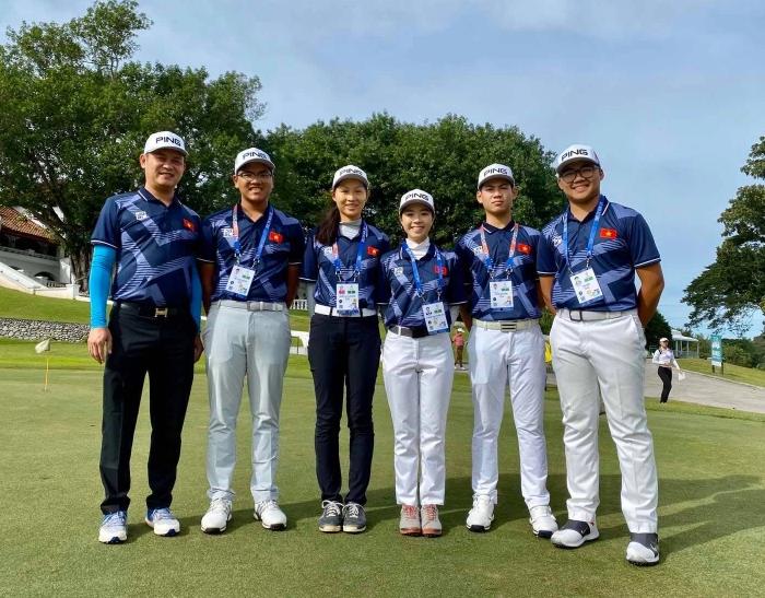 tạm hoãn seagame 31: Tuyển golf Việt Nam dự SEA Games 30