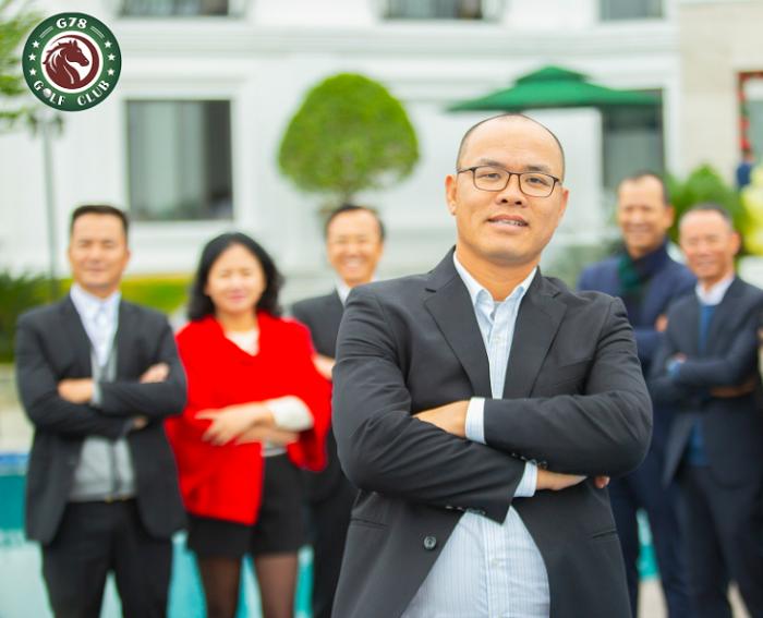 Golfer  Đỗ Thành Trung - Đội Trưởng Câu lạc bộ golf G78