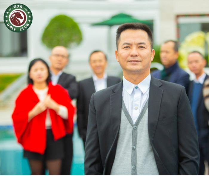 Golfer Lưu Văn Tuấn - Giám Đốc Kỹ Thuật và Truyền thông Câu lạc bộ golf G78