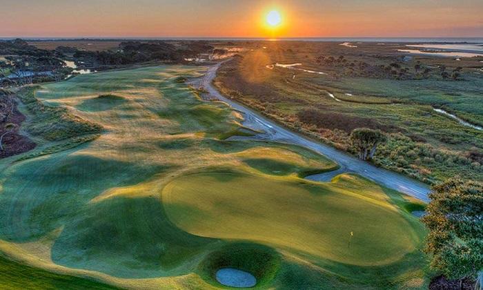 sân golf Ocean Course khánh thành năm 1990