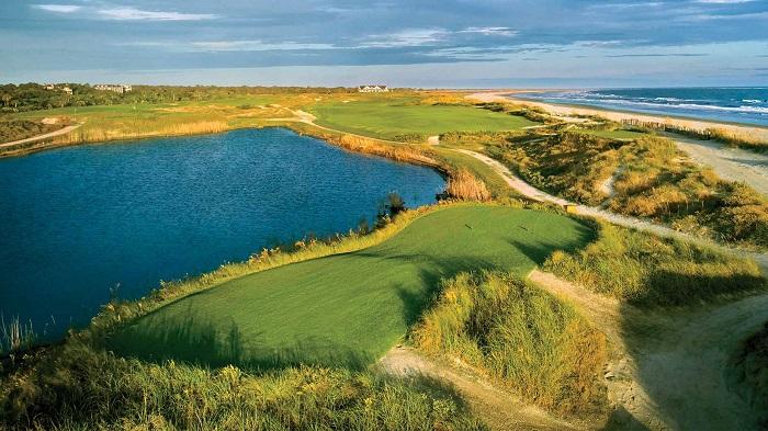 sân golf Ocean Course ở đảo Kiawah