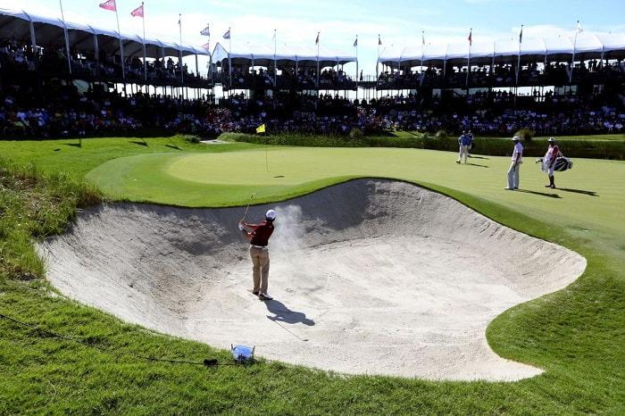 sân golf Ocean Course hố 17