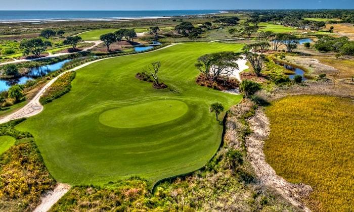 sân golf Ocean Course sân golf khó chơi nhất thế giới