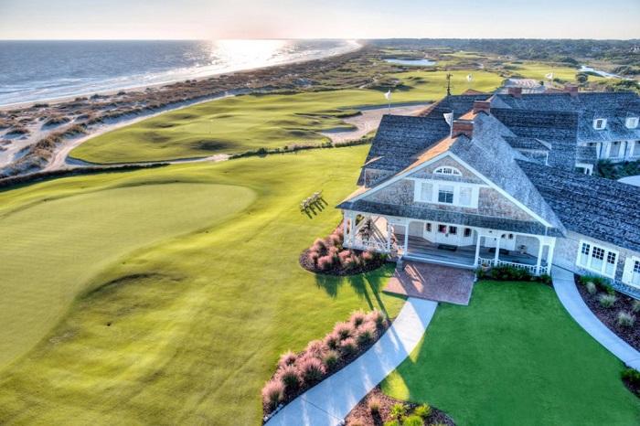 độ dài sân sân golf Ocean Course là 7500 mét