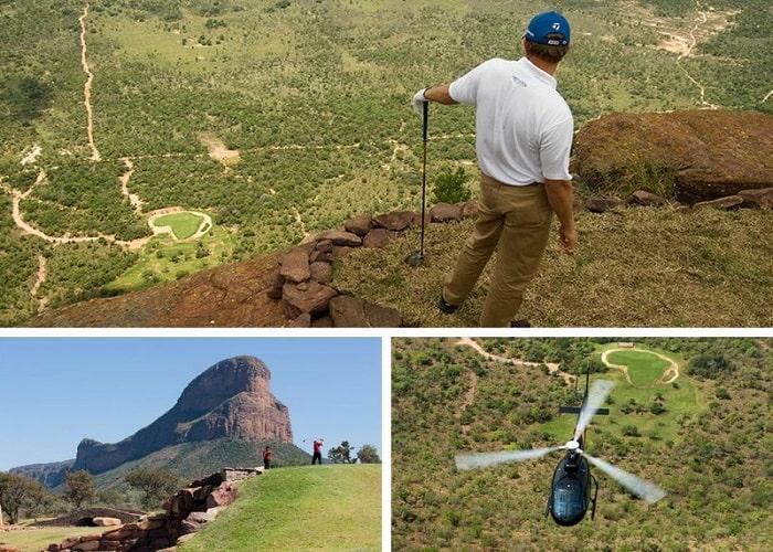 lỗ golf dị nhất thế giới nằm trong 1 khu bảo tồn