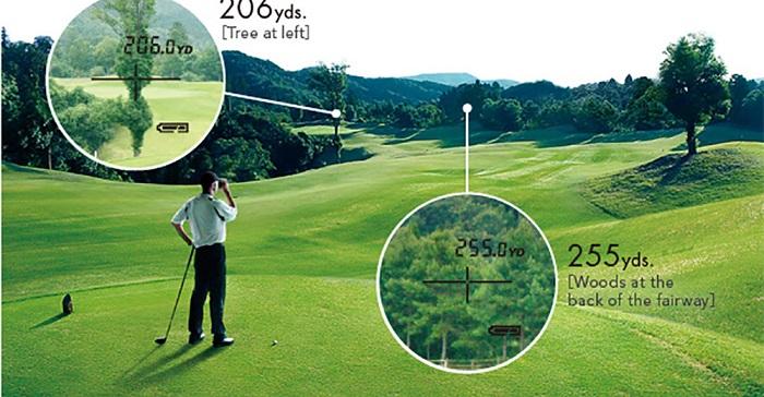 quà cho golfer mà máy đo khoảng cách