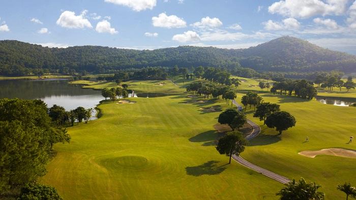 Khung cảnh vừa hùng vĩ, vừa thơ mộng ở Chí Linh Star Golf
