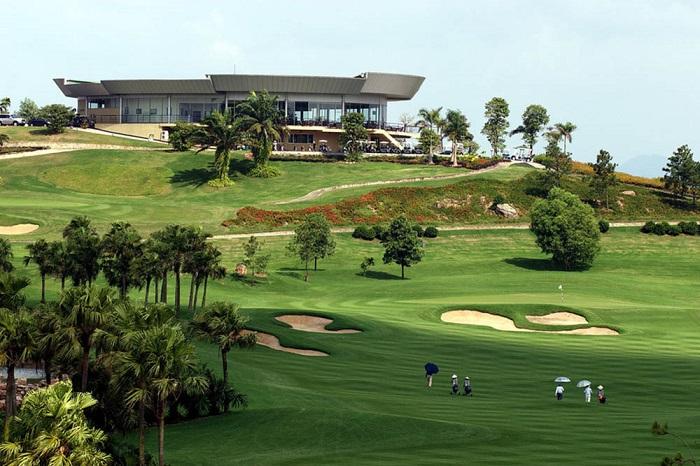 Nhà Câu lạc bộ của  Chí Linh Star Golf