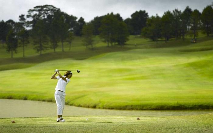 Sân golf Đà Lạt Palace có lịch sử rất lâu đời.