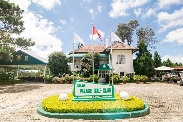 Nhà câu lạc bộ thiết kế theo phong cách cổ điển của sân golf Đà Lạt Palace