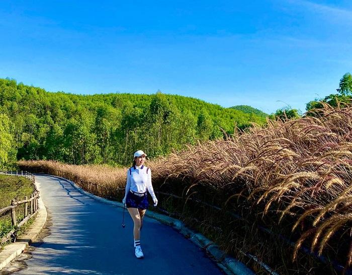 Sân golf Mường Thanh Diễn Lâm chú trọng về cơ sở hạ tầng