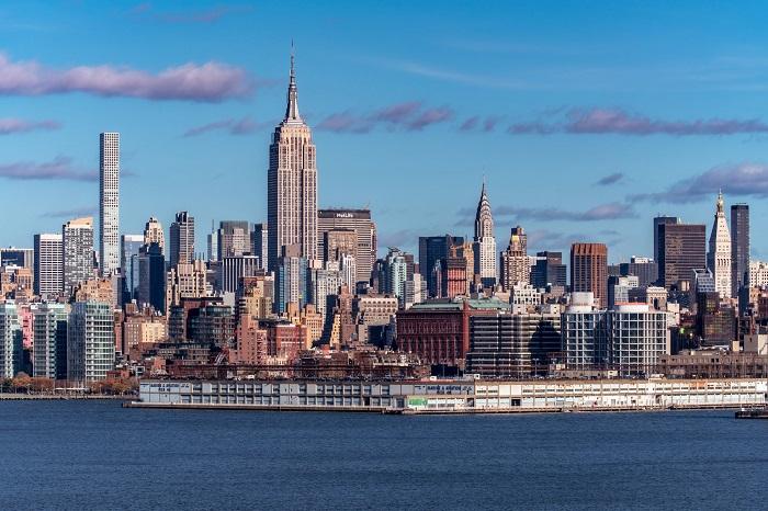 Cảnh quan đô thị hiện đại của New York