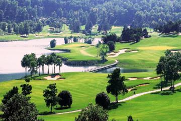 Trải nghiệm thể thao tuyệt vời tại sân golf BRG Kings Island Golf
