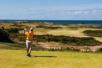 Sân golf Cabot Links: Hòn ngọc xanh bên bờ biển Canada