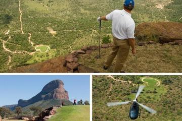 Lỗ golf dị nhất thế giới 'trao thưởng' 1 triệu đô la cho người ghi điểm hole in one