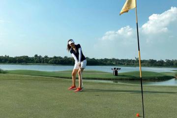 Điểm danh các mỹ nhân Việt mê chơi golf có tiếng trong showbiz