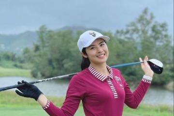 Nàng hậu mê golf Ngọc Hân và những trải nghiệm thể thao tại các sân golf nức danh Việt Nam