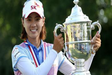Top các nữ golfer Hàn Quốc từng giành chức vô địch US Womens Open danh giá