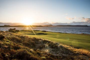 Sân golf Castle Stuart Golf Links: Nơi trở thành 'vua Scotland' một ngày
