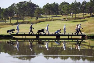 Sức hút khó cưỡng của sân golf lâu đời nhất tại Việt Nam