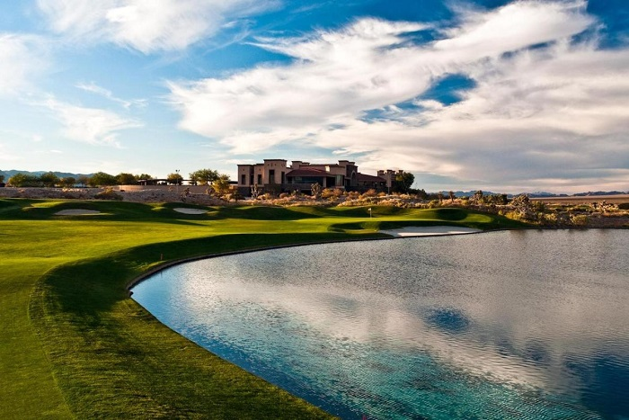Paiute Golf Resort tòa nhà câu lạc bộ