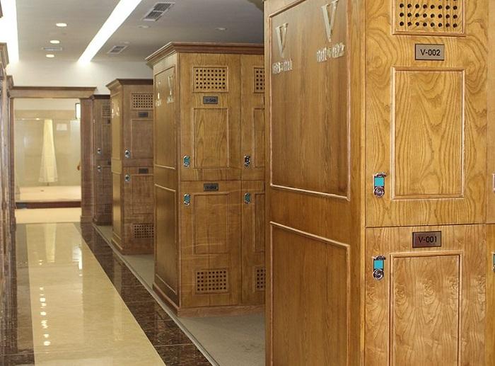 Phòng locker của sân golf Yên Dũng Bắc Giang