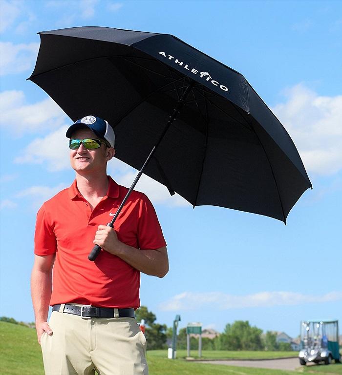 Những chiếc ô chơi golf thường có kích thước khá lớn
