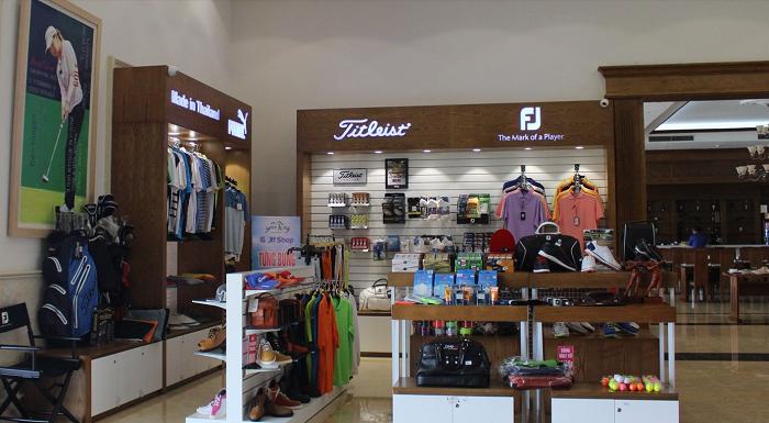 Cửa hàng proshop của sân golf Yên Dũng Bắc Giang