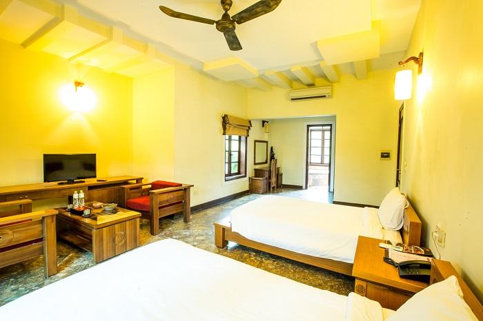 phòng nghỉ tại Sân golf Asean Resort Thạch Thất Hà Nội