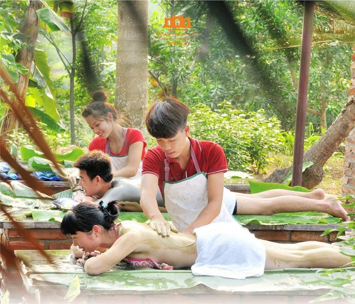 trải nghiệm spa tại Sân golf Asean Resort Thạch Thất Hà Nội