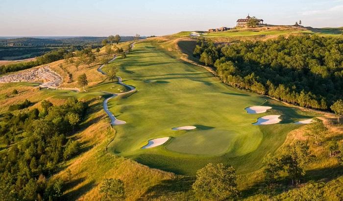 Sân golf Payne's Valley của Tiger Woods