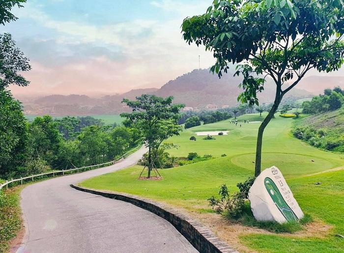 vẻ đẹp của sân golf Yên Dũng Bắc Giang