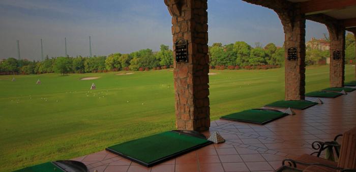 Sân tập của câu lạc bộ  Sheshan International Golf Club Thượng Hải