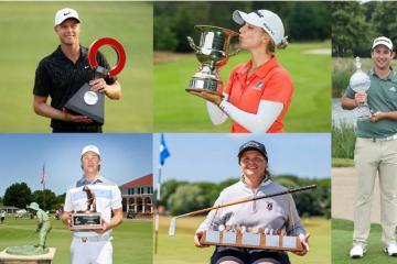 Golf Úc vô địch ghi cột mốc mới khi ghi nhận năm golfer cùng ẵm cúp trong một tuần