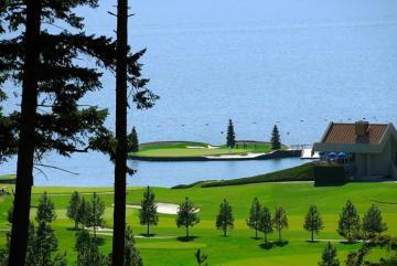 Chiêm ngưỡng sân golf 'trôi' Coeur d'Alene Resort Golf Course