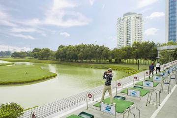 Sân tập golf Ciputra – Địa điểm luyện tập hoàn hảo cho các golfer Hà Thành