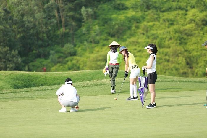 chơi golf tại tại sân golf Yên Dũng Bắc Giang