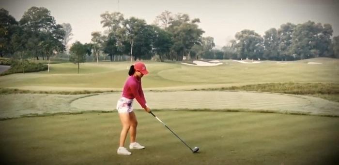 Golfer chuyên nghiệp Tăng Thị Nhung - Nữ golfer nhà nghề đầu tiên của Việt Nam