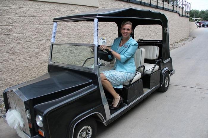 xe chơi golf